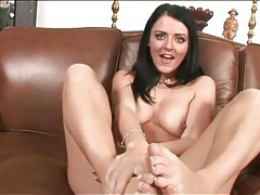 Bare feet of sophie dee are very sexy tubes