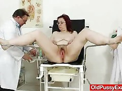 Woolly gramma enema during a medical examination tubes
