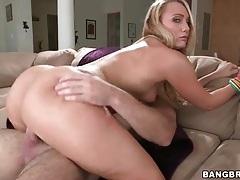 Big ass blonde aj applegate rides his big cock tubes