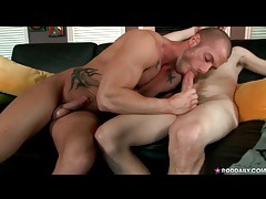 Twink boy and rod daily in a gay blowjob video tubes