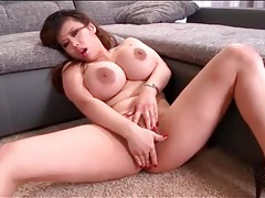 Curvy asian tiger benson has pierced clit tubes