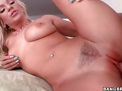 Blonde cameron dee pounded hard by big cock tubes