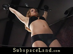 Hot slave girl whiped,fingered and punished in bdsm tubes