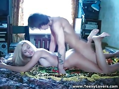 Great sex with a perky tits blonde beauty tubes