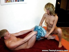 Boyfriend shows up to fuck this teen blonde tubes