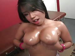 Big cock blowjob and doggystyle sex with asian tubes