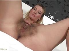 Milf vanessa lovely fondles her big titties tubes