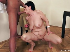 Cock riding granny girl wants a facial cumshot tubes