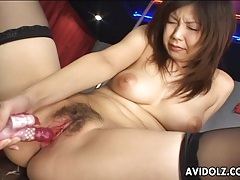 Busty asian pole dancer masturbates tubes