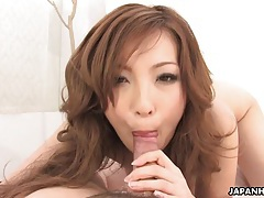 Threesome action with a hot asian chick tubes