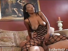 Lady armani is getting fucked in her ass tubes