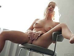 Naked young blonde kiara lord masturbates tubes