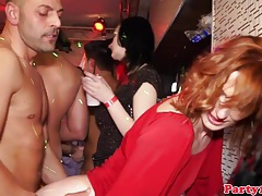 Ginger real party euro slut public bang tubes