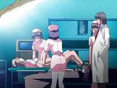 Hentai nurse in gyno exam by her husband tubes