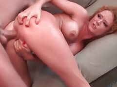 Audrey hollander anal fuck with deep thrusting tubes
