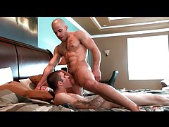 Hot guys face fucking in bedroom porn tubes