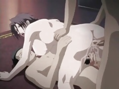 Fucked anime slut covered in hot cumshots tubes