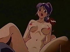 Hentai dickgirl mistress fucks mouth and cunt tubes