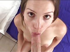 Cute lelu love sucks hard dick in pov blowjob tubes
