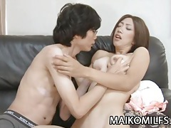Kana niinuma - skinny japan milf sex with boytoy tubes