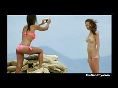 Sandfly 2014 beach voyeur season finale! tubes