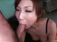 Teen japanese girl in a skirt rides a cock tubes