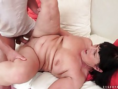 Big butt granny gets fucked from behind tubes