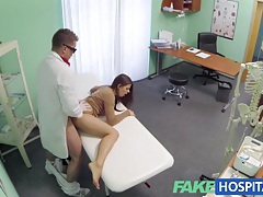 Fake hospital doctor denies antidepressants and prescribes a good licking and a hard fucking tubes