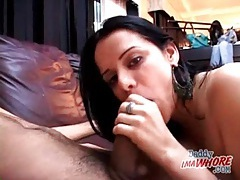 Close up cocksucking from cute latina girl tubes