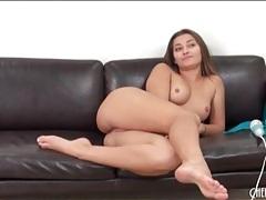 Dani daniels masturbates her hairy pussy tubes