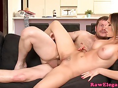 Aleska diamond gets both holes fucked tubes