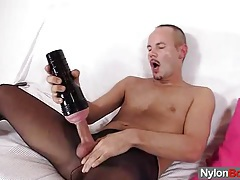 Pervy solo gay exposed tubes