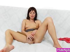 Leony aprill weird nylon fetish tubes