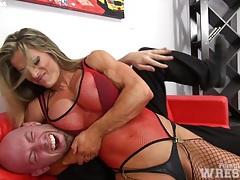 Maria g wrestles dante (softcore) tubes