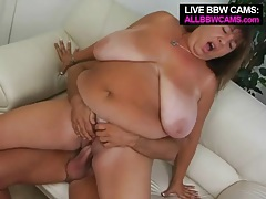 Mature bbw fucked in her beautiful pussy tubes