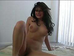 Busty naked girl shows how flexible she can be tubes