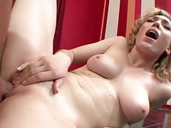Curly hair lily labeau rides cock passionately tubes