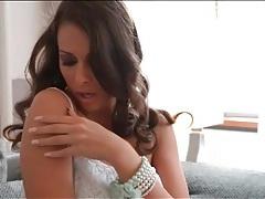 Glamorous brunette makes stunning solo porn tubes