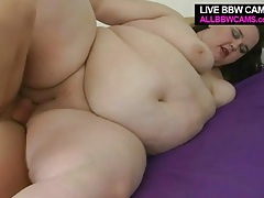 Fucking a bbw and pinching her titties tubes