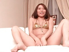 Sexy bra and panties on masturbating japanese girl tubes