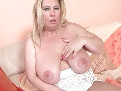 Mature bbw blonde in solo tease porn video tubes