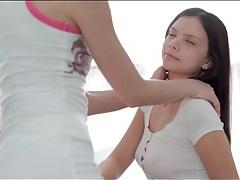 Erotic pussy eating between two teenage girls tubes