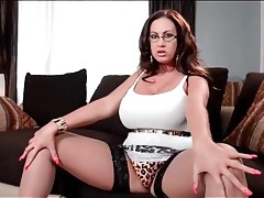 Thick chick emma butt in skintight skirt tubes