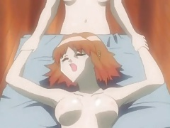 Professor and two hentai students have threesome tubes