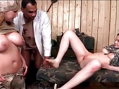 Black guy fucks a pair of military girls tubes