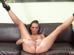 Jennifer dark solo masturbation in heels tubes