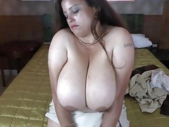 Big saggy titties on solo bbw mature tubes