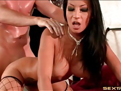 Dirty dark haired girl fucked by sweaty guy tubes