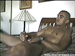 Hot guy jacks his dick solo tubes