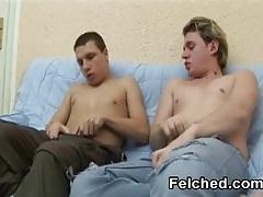 Felching bareback gays tubes